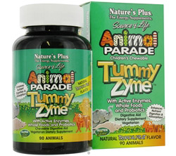 Animal Parade Children's Tummy Zyme Natural Tropical Fruit Flavor