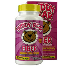 Buddy Bear Fiber Supplement for Children Cherry
