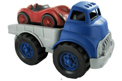 Flatbed Truck and Race Car Ages 1+