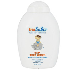 Baby Body Lotion Hypoallergenic Fragrance-Free
