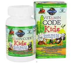 Vitamin Code Kids Whole Food Multivitamin Cherry Berry
