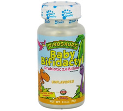 Dinosaurs Baby Bifidactyl Probiotic 2.6 Billion for Kids Unflavored