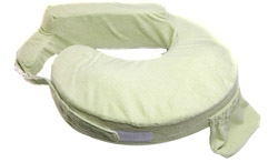Deluxe Nursing Pillow Green