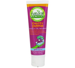 Cavity Zapper Anticavity Gel Toothpaste Berry Blast Formerly Healthy Teeth Kids Toothpaste