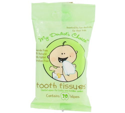 Dental Wipes with Xylitol Fluoride-Free