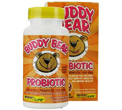 Buddy Bear Probiotic for Kids Orange