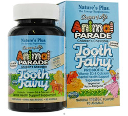 Animal Parade Tooth Fairy Children's Probiotic Natural Vanilla Flavor