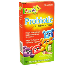 Probiotic + Prebiotic Fiber White Chocolate - 40 Bears