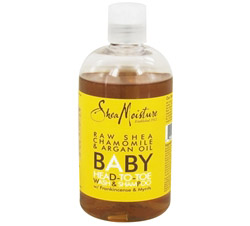 Baby Head-To-Toe Wash & Shampoo Raw Shea Chamomile & Argan Oil