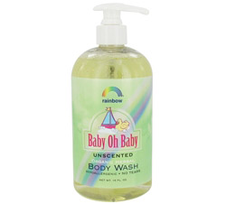 Baby Oh Baby Organic Herbal Body Wash Unscented
