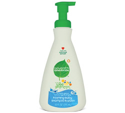 Baby Foaming Shampoo & Wash