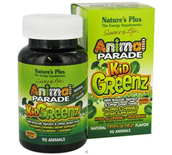 Animal Parade KidGreenz Chewable Tropical Fruit Flavor