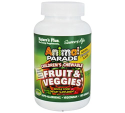 Animal Parade Fruits & Veggies Pineapple Flavor