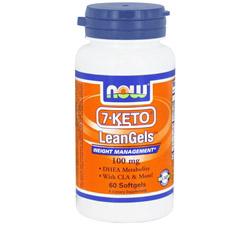 7-Keto LeanGels 100 mg.