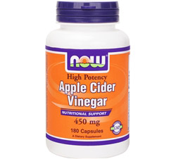 Apple Cider Vinegar 450 mg.
