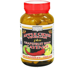 Apple Cider Vinegar Plus 700 mg.