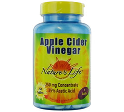Apple Cider Vinegar 250 mg.