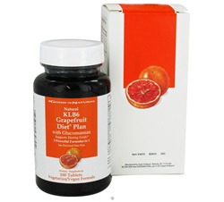 KLB6 Grapefruit Diet Plan with Glucomannan