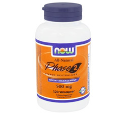 Phase 2 500 mg. White Kidney Bean Extract