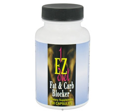 1-EZ Diet Fat & Carb Blocker Contains White Kidney Bean Extract