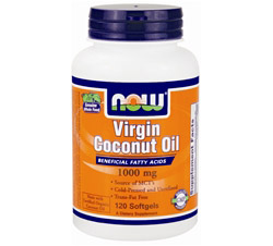 Virgin Coconut Oil 1,000 mg.