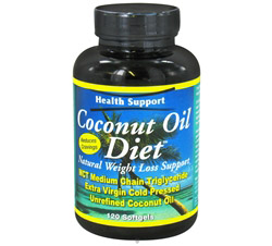 Coconut Oil Diet Natural Weight Loss Support