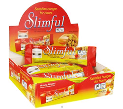 Sinfully Delicious 90 Calorie Chew Bar Honey Almond - 12 x .92 oz(26g) Bars