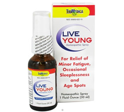 Live Young Homeopathic Spray