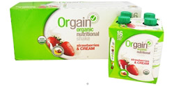 Organic Ready To Drink Meal Replacement Strawberries and Cream