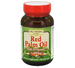 Red Palm Oil 1,000 mg.
