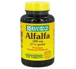 Alfalfa 500 mg.
