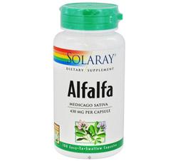 Alfalfa 430 mg.