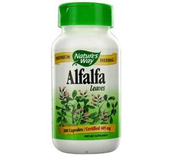 Alfalfa Leaves 405 mg.