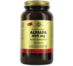Alfalfa 600 mg.