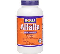 Alfalfa 10 Grain 650 mg.