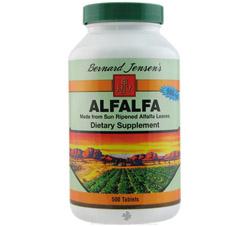 Alfalfa 550 mg.