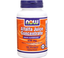 Alfalfa Juice Concentrate 650 mg.