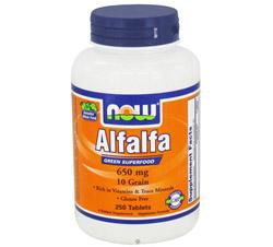 Alfalfa Green Superfood 10 Grain 650 mg.
