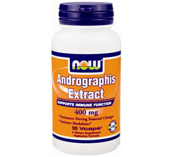 Andrographis Extract 400 mg.
