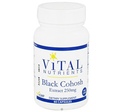 Black Cohosh Extract 250 mg.