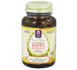 Pure and Potent California Poppy Extract 800 mg.