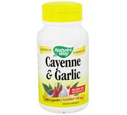 Cayenne & Garlic 530 mg.