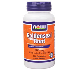 Goldenseal Root US Wild-Crafted 500 mg.