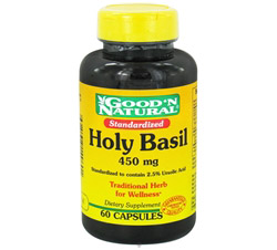 Holy Basil 450 mg.