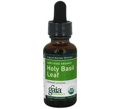 Holy Basil Leaf Certified Organic