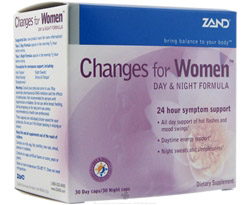 Changes for Women Day & Night Formula (Formerly Menopause Herbal Kit)