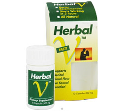 Herbal V 500 mg. CLEARANCE PRICED