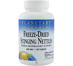 Freeze-Dried Stinging Nettles 420 mg. Formerly Planetary Formulas
