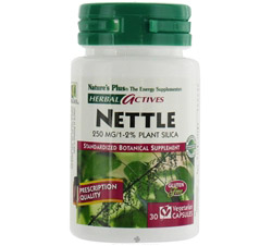 Herbal Actives Nettle 250 mg. CLEARANCE PRICED