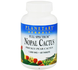 Nopal Cactus Full Spectrum 1,000 mg.